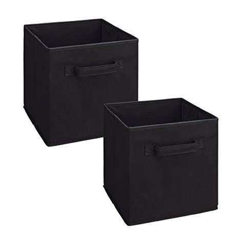 Closetmaid Cubeicals Fabric Drawers - closetmaid 3784 cubeicals fabric drawer black 2 pack