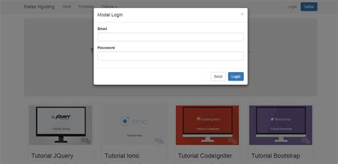 Membuat Template Blog Sederhana Dengan Bootstrap