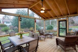 Painted Decks And Porches by How Much Does A Screen Porch Design Cost