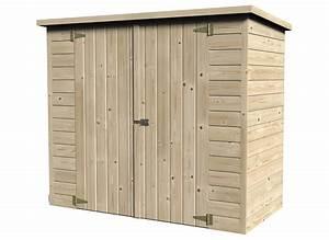 Coffre Rangement Bois : coffre de rangement en bois abri pour v lo bike box jardideco ~ Teatrodelosmanantiales.com Idées de Décoration