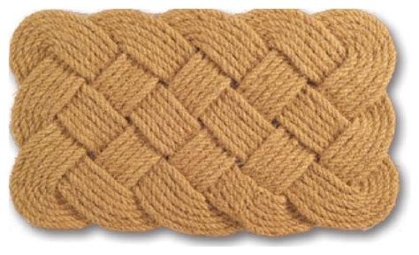 braided coir doormat rope coir braided door mat 30 x 18 style