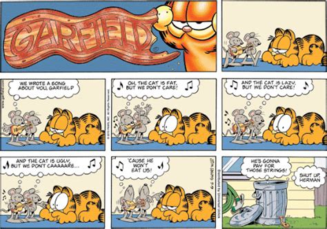 Stop Acting Like Garfield On A Monday