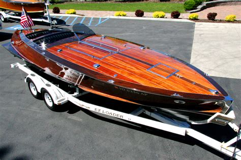 Torpedo Runabout Boat Plans by 2005 29 Stan Craft Torpedo Classic Wooden Boat