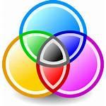 Cmyk Icon Circles Clip Vector Clipart Clker