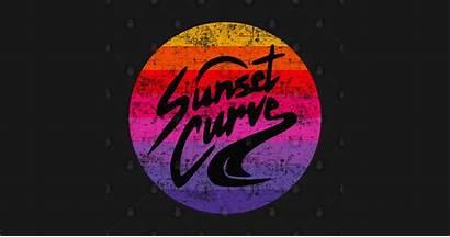 Phantoms Julie Curve Sunset 90s Vaporwave Vibes