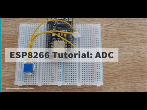 3 nodemcu esp8266 tutorial adc and vcc reading analog to digital converter