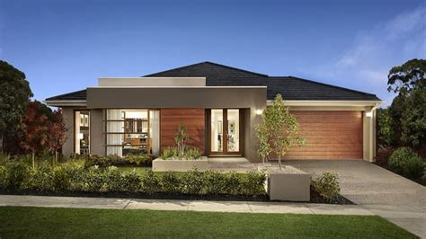 10 One-Story House Designs - Modern Facade Models and