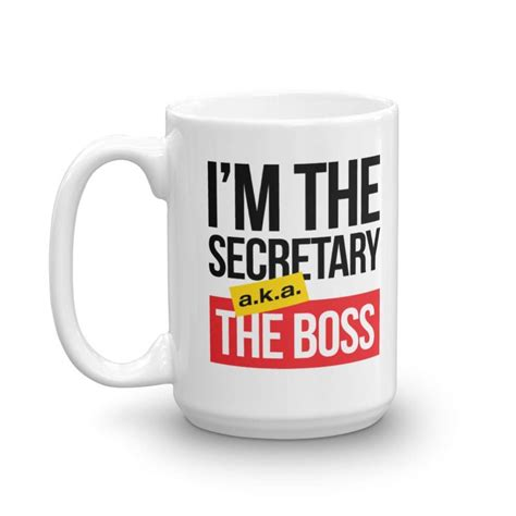 Berkeley, california's supersonic coffee is changing names. Secretary aka Boss White Ceramic Funny Coffee & Tea Gift Mug (15oz) - Walmart.com