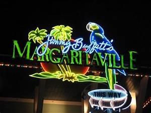 Margaritaville Neon Universal CityWalk Orlando FL
