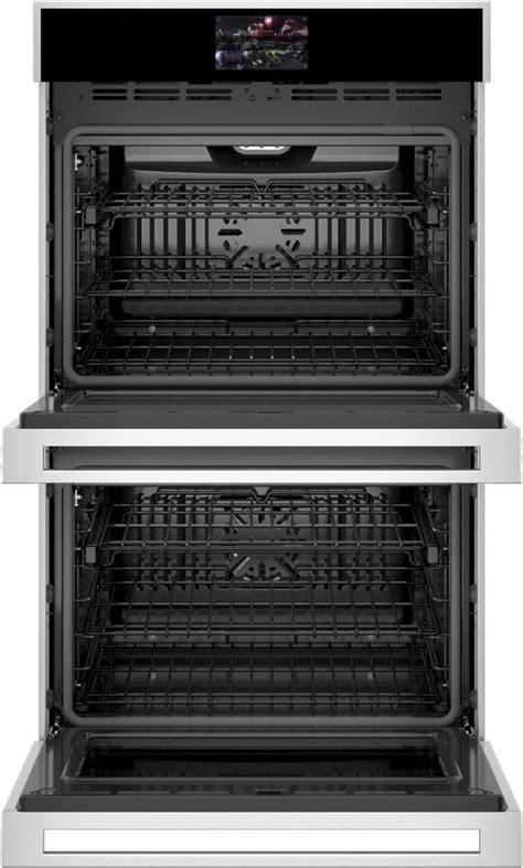 ztddssnss monogram  minimalist collection double electric wall oven  true european