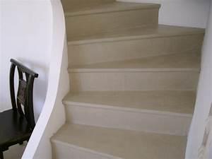 Recouvrir Escalier Béton : application du beton cire sur un escalier betoncire b ton ~ Premium-room.com Idées de Décoration