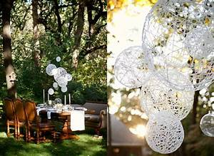 Easy diy wedding decorations on low budget for Hanging wedding decorations diy