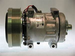 Compressor New Original Sanden 4499  4768 Case I H C