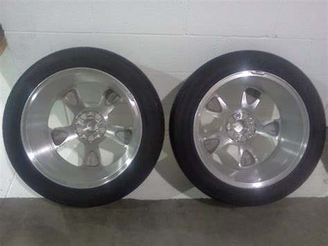 sale   gtcs polished aluminum bullit wheels