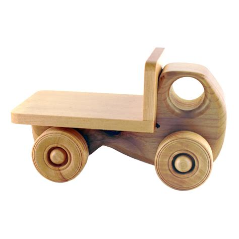 wooden toys humbert myrtlewood toy flatbed truck http www shop 4