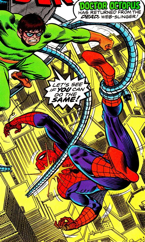 Spider Man Vs Doc Ock By John Romita Sr Doctor