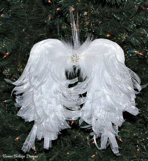 Diy Angelic Organdy Ribbon Angel Wings Hometalk