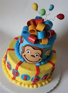 1004 best images about cake ideas on pinterest owl With curious george cake template