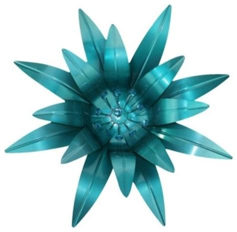 flower wall decor target metal flower wall decor with rhinestones blue