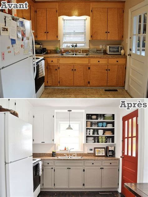 how to install cabinets in kitchen r 233 nover intelligemment on s y prend comment l an vert 8685