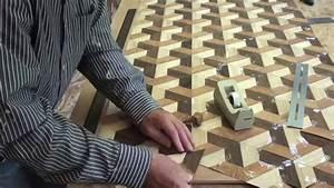 Woodworking Veneer inlay FunnyDog TV