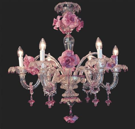 Light Pink Chandelier by The Pink Chandelier For A Pretty And Feminine