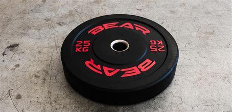 training bumper plate  kg bearfitness uk