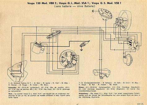 vespa vba wiring diagram 24 wiring diagram images