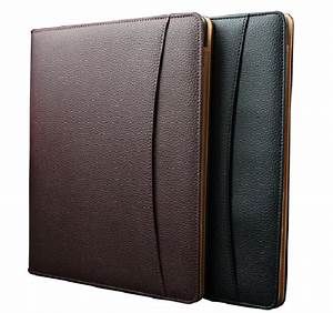 Aliexpresscom buy brown pu leather document case a4 for Leather document file holder