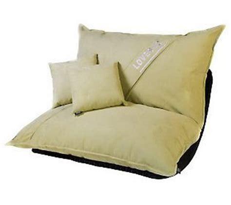lovesac pillows lovesac 5 sac w rocker base pillows