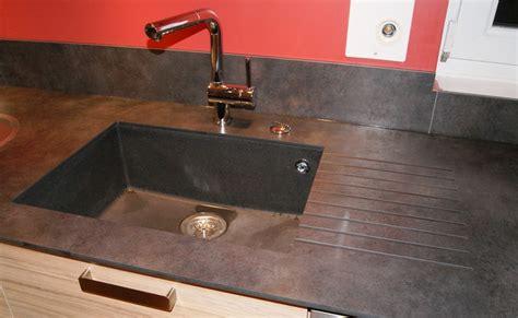 evier cuisine encastrable sous plan evier sous plan de travail granit maison design bahbe com