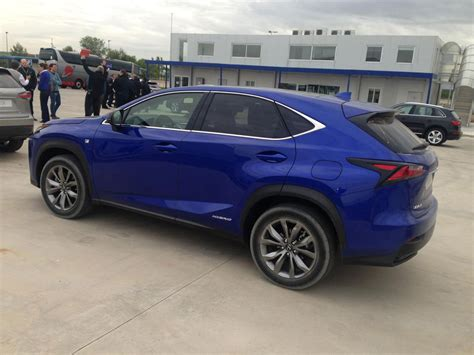 Lexus Nx Ultrasonic Blue