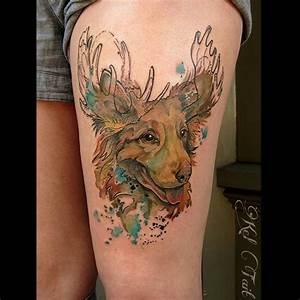 Dog Moose Tattoo | Best Tattoo Ideas Gallery