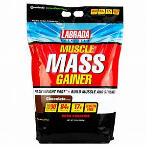 Buy Labrada Muscle Mass Gainer  12 Lbs  Online In India At Lowest Price