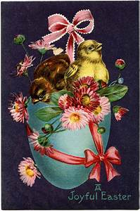 vintage easter stock image pretty the graphics