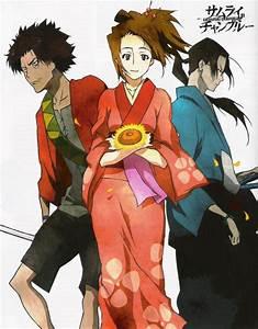 Samurai Champloo (Fuu, Jin, Mugen) - Minitokyo