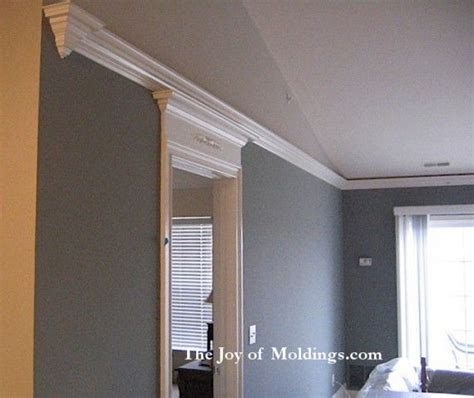 recessed ceiling crown molding crown molding on cathedral 17 best images about flying crown molding on