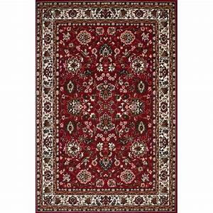 tapis oriental rouge pour salon mahdia pas cher tapis With tapis style oriental