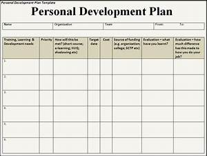 6 free personal development plan templates excel pdf formats With personal learning plan template