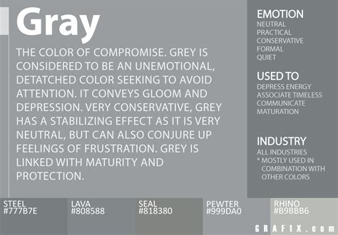 the color grey meaning color meaning and psychology graf1x
