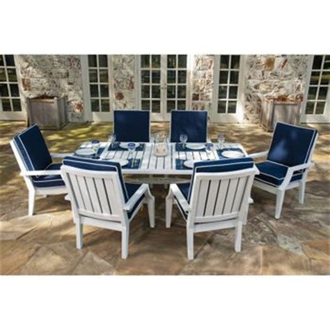 costco outdoor patio dining sets costco seaview 7 patio dining set home and garden