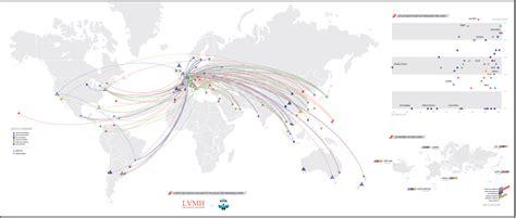 siege social le monde lvmh la carte l 39 atelier de cartographie