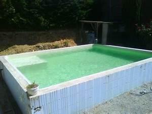 Piscine En Kit Enterrée : piscine en kit beton hors sol ~ Melissatoandfro.com Idées de Décoration