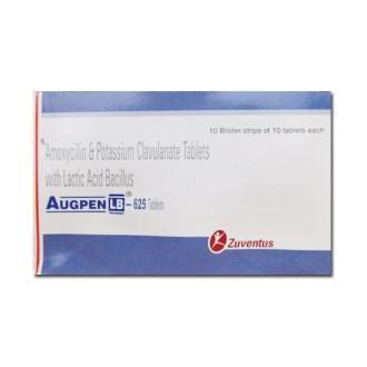 Augpen LB 625 mg Tablet (10 Tab): Price, Overview