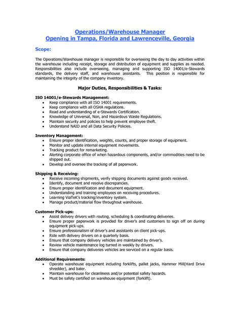 Warehouse Worker Resume Pdf by Resume Exle Warehouse Worker Resume Skills Warehouse