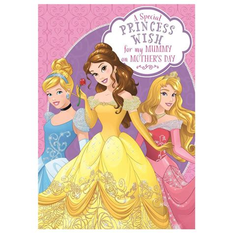 Maybe you would like to learn more about one of these? Mummy Wish Disney Princess Mother's Day Card (25459816) - Character Brands