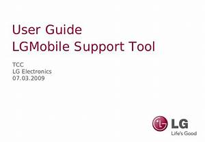 Lg User Guide Upgrade Tool