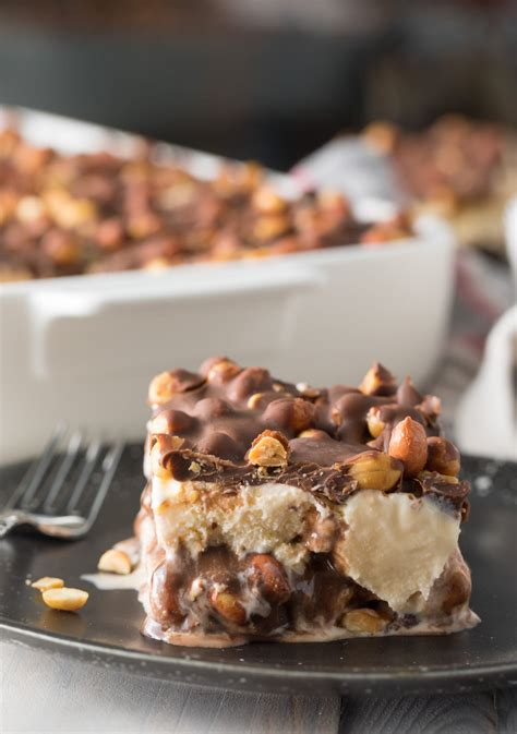 Maybe you would like to learn more about one of these? Best Buster Bar Ice Cream Cake Recipe #ASpicyPerspective # ...