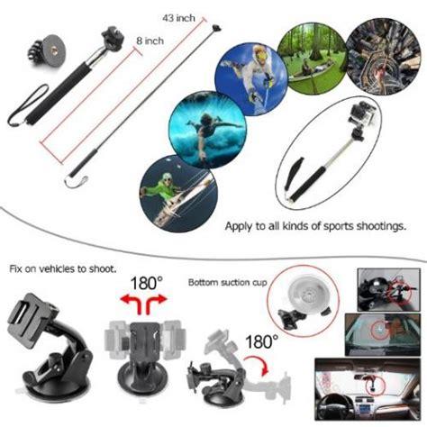 zookki sports accessories kit gopro hero
