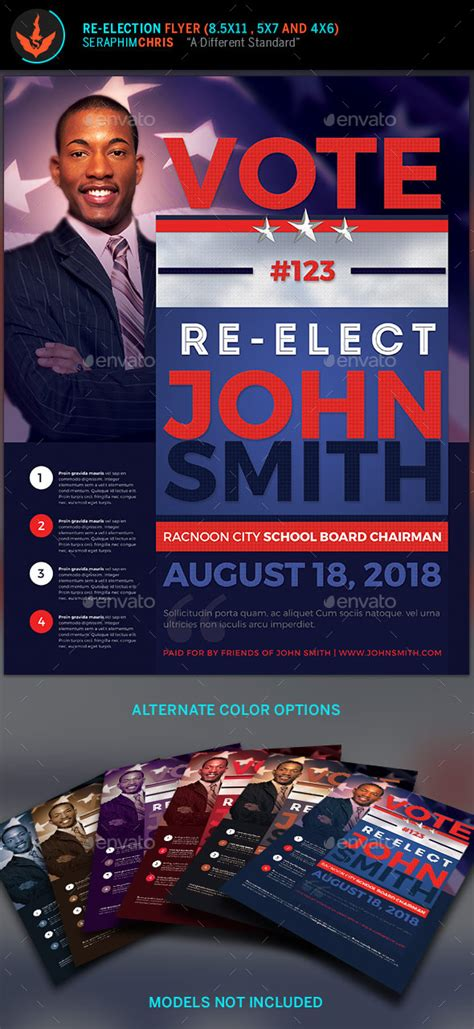 vote  election flyer templates  seraphimchris